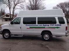 Commission on Aging Van