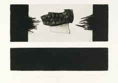 """Jean Michel Cropsal, """"Le Grand voyage"""", eau forte, aquatinte et pointe sèche, 13.5 x 19.5 cm, 2007."""