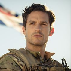 Ben Aldridge in Our Girl Ben Aldridge, Our Girl Tv Series, Our Girl Bbc, Charles James, Gorgeous Men, Beautiful, Celebrity Crush, Sexy Men, Movie Tv