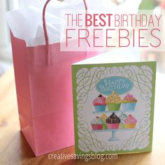 This list has THE best birthday freebies to make your day special, without the hassle of percentage off coupons. Sign up for your favorites and enjoy free stuff all month long, from retail stores to restaurants!