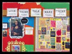 """Park Art Smarties: """"Make Like Mona"""", Art Class Expectations, What We Do, Quote Wall"""