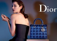 Marion Cotillard for Lady Dior Spring 2013. Photographed by Jean Baptiste  Mondino. New Handbags e4a1c7ea9ffb4