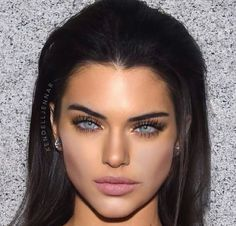 Megan Fox's Eyes and Angelina Jolie's cheekbones on Kendall Jenner's face