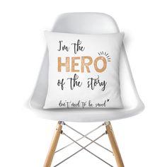 Almofada the hero of the story de @littlesun | Colab55