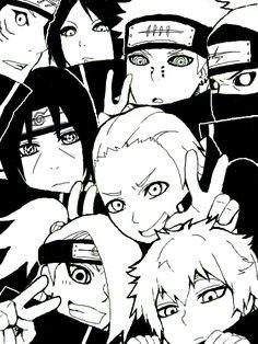 Cute Akatsuki - Itachi is my favourite 💕 Itachi Uchiha, Sasunaru, Gaara, Kakashi, Naruto Y Boruto, Shikamaru, Deidara Akatsuki, Shikatema, Narusasu