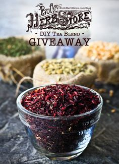 Five 1/2 pound bags of herbal goodness in this week's giveaway!