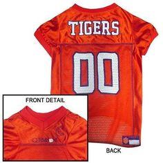 Clemson Tigers NCAA Dog Jersey