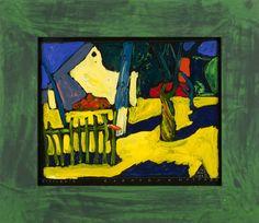 Boris Jirků - Zkratka k hospodě - Galerijní ulice - Ostrava - Moravsloslezský kraj Painting, Art, Painting Art, Paintings, Kunst, Paint, Draw, Art Education, Artworks