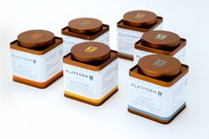 Platform T, A Tea Lounge — The Dieline - Branding & Packaging