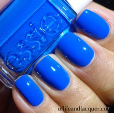 I also picked up this hip-hoppity blue from their Fall 2012 line - LUV IT! essie butler please - Google Search