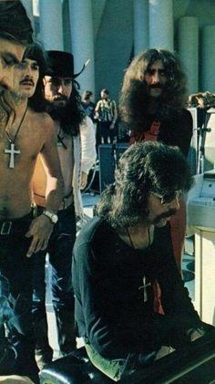 Black Sabbath soundcheck before the gig at Hollywood Bowl, September 15th 1972.