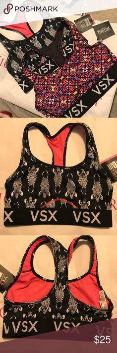 FINAL PRICE 2 new vs racerback sport bras 2 new vs racerback sport bras Victoria's Secret Intimates & Sleepwear Bras