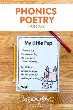 Poetry is such a great way for students to practice fluency, visualization and phonics skills. I created this unit to help my students practice all these skills and create their own poetry journal throughout the year! They keep their poems in the book bin to read and re-read as the year goes on. It ends up being such a great keepsake for students to take home at the end of the year! Download the preview to check out more!   #Firstgradepoetry #poetry #secondgradepoetry #kindergardenpoetry