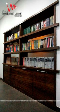 Interior View of Our commercial site wOrks #Book Shelves