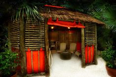 A Cabana within the Subtropical Swimming Paradise by Center Parcs UK, via Flickr