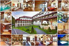 Cu o locaţie pitorească la poalele masivului Postăvaru, lângă pârtiile de schi şi în mijlocul unei păduri de conifere, hotelul Sport & Spa se află în Poiana Braşov.