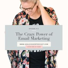 Jenna talks to us about the importance of building an email list versus just having a following on social media sites.   Tune in here: http://jennakutcherblog.com/goal-digger-episode-012-crazy-power-email-marketing-jenna-kutcher/