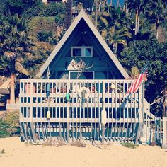 A Frame Beach House