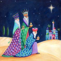 Christmas Nativity, Christmas Art, Beautiful Christmas, Christmas Card Images, Christmas Pictures, Christian Paintings, Religious Paintings, Infancy, Christmas Inspiration