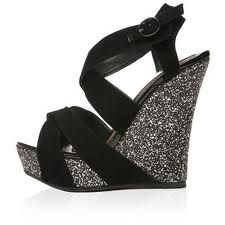more sparkly wedges