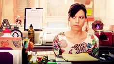 April Ludgate - I wish I could act exactly like her at least twice a week.