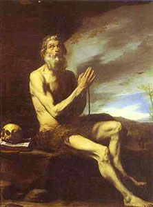 Saint Paul the Hermit pray for us and basket weavers and clothing industry.  Feast day January 15.