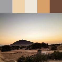 《California Dusk Palette》