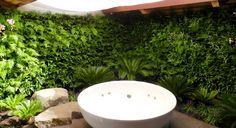 Vertical garden in my bathroom? Yes, please.
