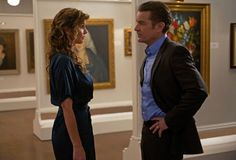 Still of Charisma Carpenter and James Marsters in Supernatural