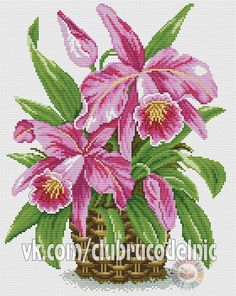 orchidée 001(DMC).pdf  | VK