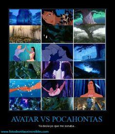 Fotos para Tumblr: Avatar Vs Pocahontas.... Las mejores Fotos Para compartir en Tumblr en la red acompañadas de frases. Buenas Fotos para Tumblr, Instagram, Twitter.