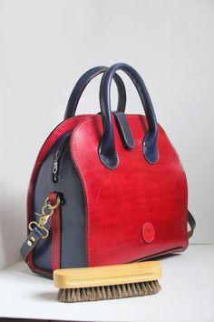 Displayonly-Leather handbag, leather crossbody bag,Hand stitch,Hand dye, designed Boston bag,large, customization,stylish handbag, gift for