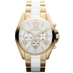 Michael Kors Watches Women's Michael Kors Bradshaw Two-Tone Chronograph Watch MK5743 I NEED THIS FOR MY BIRTHDAYYY