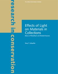 Effects of Light on Materials in Collections: Data on Photoflash and Related Sources | Terry T. Schaeffer; 2001 | free .pdf file download
