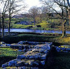 Roman Bridge, Chesters Roman Fort, Northumberland