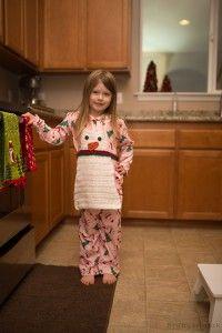 Snowman apron crochet pattern #crochet #apron #gift