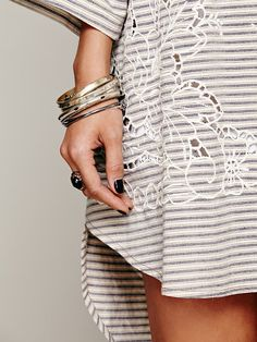 Free People FP New Romantics Paris In The Morning Tunic at Free People Clothing Boutique