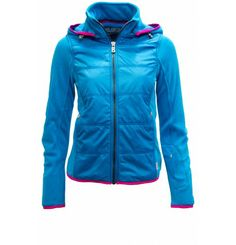 *SALE* Just right for your sunny ski days! The Janna jacket by Bogner with soft polar fleece and nylon give the shimmering figure-hugging fit, the cool matt / gloss finish. Trendy with and without a hood. Opened modern layering options and is extremely durable. You will not want to take them off! Bogner's Fire & Ice is the home of functionality, innovative sportswear with a touch of class: a young and exciting mix of functional active wear and the classic sophisticated style. Ski Fashion, Fashion Women, Men's Activewear, Sporty Look, Polar Fleece, Cold Day, Sophisticated Style, Sportswear