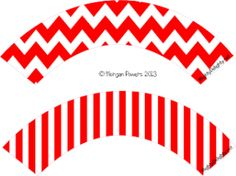 Snow White Party Pack / Chevron and Stripe / Cupcake Wrapper Snow White Party Pack / Chevron and Str Birthday Party Desserts, Carnival Birthday Parties, Cake Birthday, Birthday Recipes, 11th Birthday, Circus Theme Cupcakes, Original Snow White, Disco Party Decorations, Christmas Photo Booth