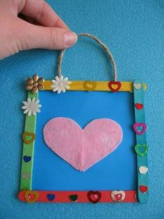 Diy And Crafts, Crafts For Kids, Grandma And Grandpa, Pop Up Cards, Art For Kids, Diy Projects, Valentines, Education, Frame