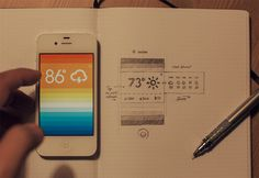 Brisk by Eddie Lobanovskiy is a beautiful & simple to use weather app. http://twosolid.com/brisk/