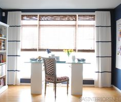 DIY: how-to add stripes using paint