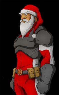 Super Santa by Anny-D on DeviantArt
