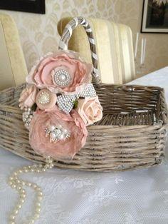 Pretty confetti basket