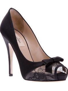 VALENTINO - peep toe shoe