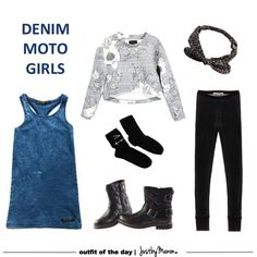Girls outfit styling