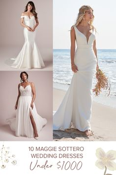On a bridal budget? We can help with the dress! Check out #MaggieSottero wedding dresses under $1000!! 🤯 Featuring gowns for that perfect balance of style, quality, and a three-digit price tag!   #affordableweddingdresses #budgetweddingdress #RebeccaIngram #weddingplanning Affordable Wedding Dresses, Wedding Dress Styles, Dream Wedding Dresses, Wedding Attire, Bridal Dresses, Wedding Gowns, Bridal Gown, Budget Wedding Dress, Wedding Rings