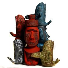 """"""" ORCAS and MOAI """" Stackers 