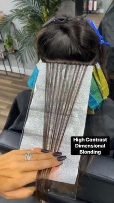 Hair Cutting Techniques, Hair Color Techniques, Hair Color Placement, Hair Foils, Hair Color Formulas, Hair Upstyles, Ombré Hair, Hair Color And Cut, Hair Painting