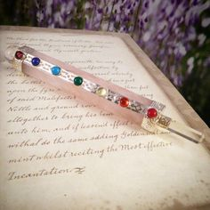 How much do you love this new Rose Quartz crystal healing wand??  Only one available!   Crystaljypsyjewelry.etsy.com #crystals #wands #healing #healer #wiccan #pagan #witch #gemstones #geodes #need #love #vibes #mood #metaphysical #reiki